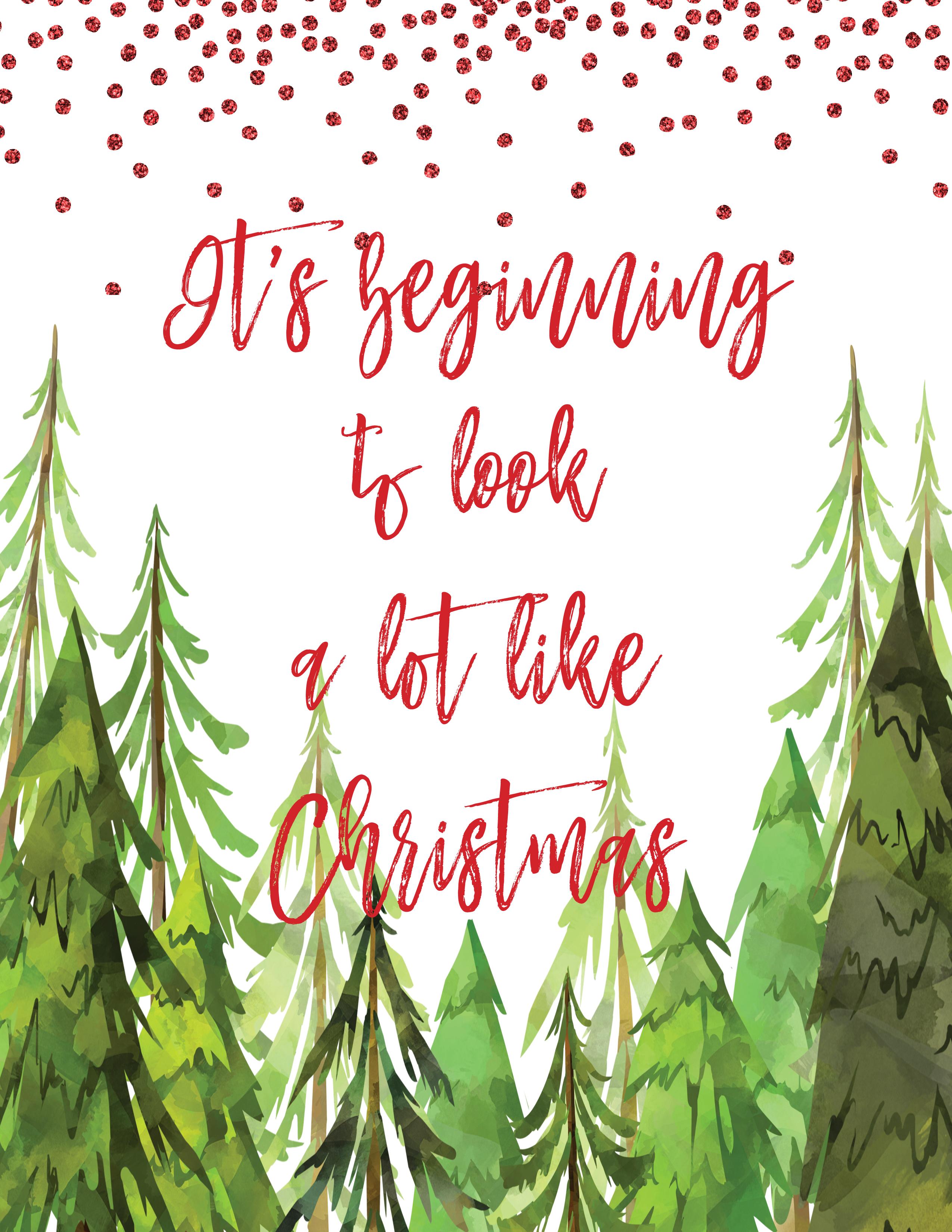 - Christmas Print — Writings & Worship